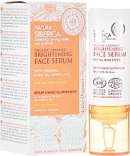 Parfumuri și produse cosmetice Ser pentru toate tipurile de piele - Natura Siberica Natural Certified Brightening Serum