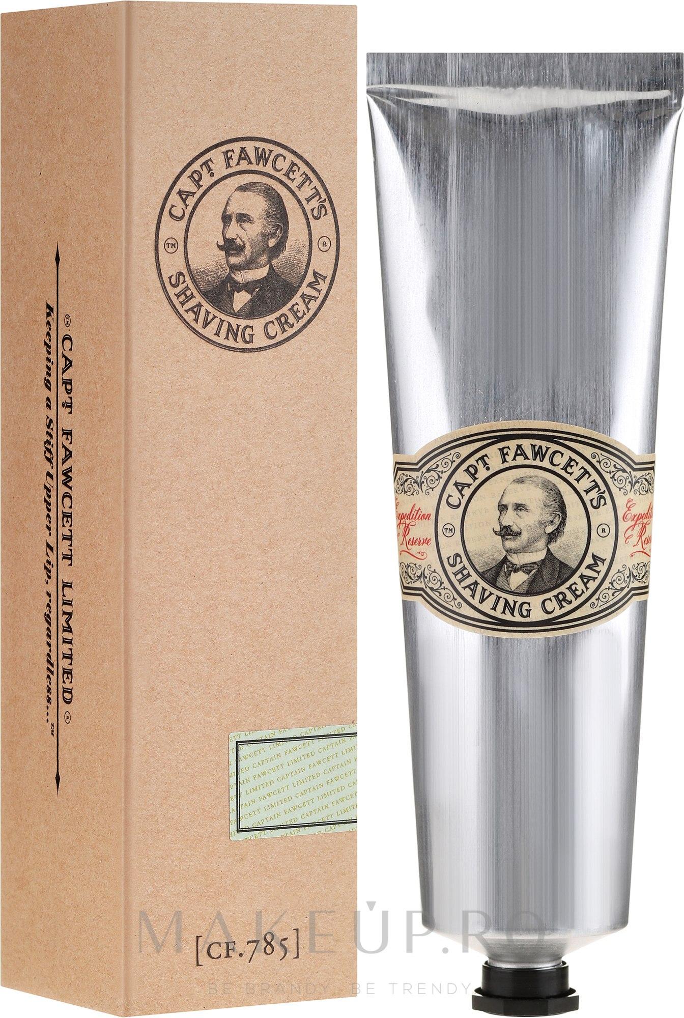 Cremă de ras - Captain Fawcett Shaving Cream — Imagine 150 ml