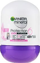 Parfumuri și produse cosmetice Deodorant roll-on - Garnier Mineral Protection 6 Cotton Fresh