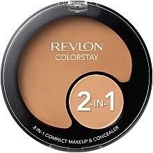 Parfumuri și produse cosmetice Fond de ten bază și anticearcăn - Revlon Colorstay 2-in-1 Compact Makeup&Concealer