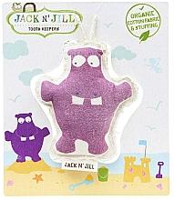 Parfumuri și produse cosmetice Husă pentru depozitarea dinților - Jack N' Jill Toothkeeper Hippo