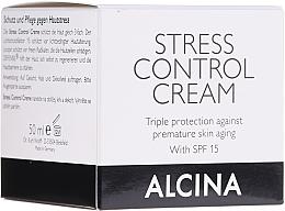 Parfumuri și produse cosmetice Cremă de față - Alcina Stress Control Creme
