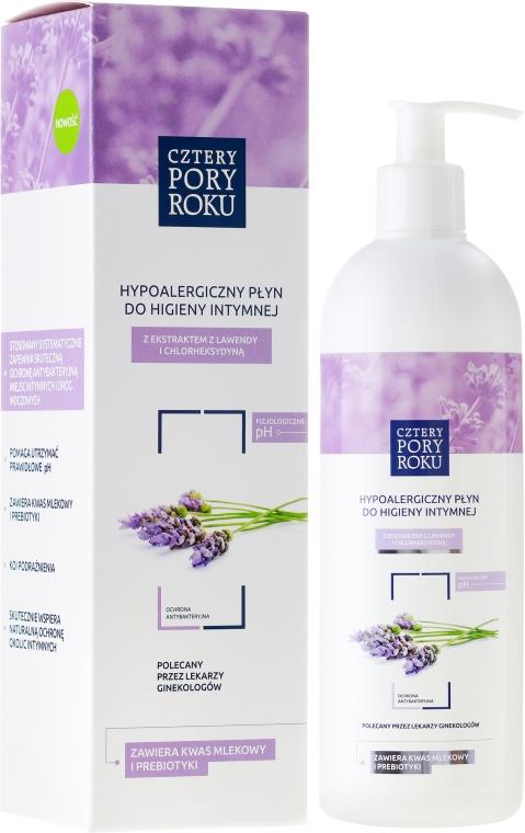 """Gel pentru igienă intimă """"Lavandă"""" - Cztery Pory Roku Lavender Intimate Hygiene Wash"""