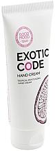 Parfumuri și produse cosmetice Cremă hidratantă pentru pielea uscată și normală a mâinilor - Good Mood Exotic Code Hand Cream