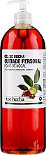 Parfumuri și produse cosmetice Gel de duș - Tot Herba Shower Gel Intimate Hygiene Walnut