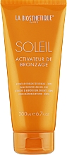 Parfumuri și produse cosmetice Activator bronz cu efect hidratant - La Biosthetique Soleil Tan Activator