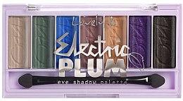 Parfumuri și produse cosmetice Paletă fard de ochi - Lovely Electric Plum Eyeshadow