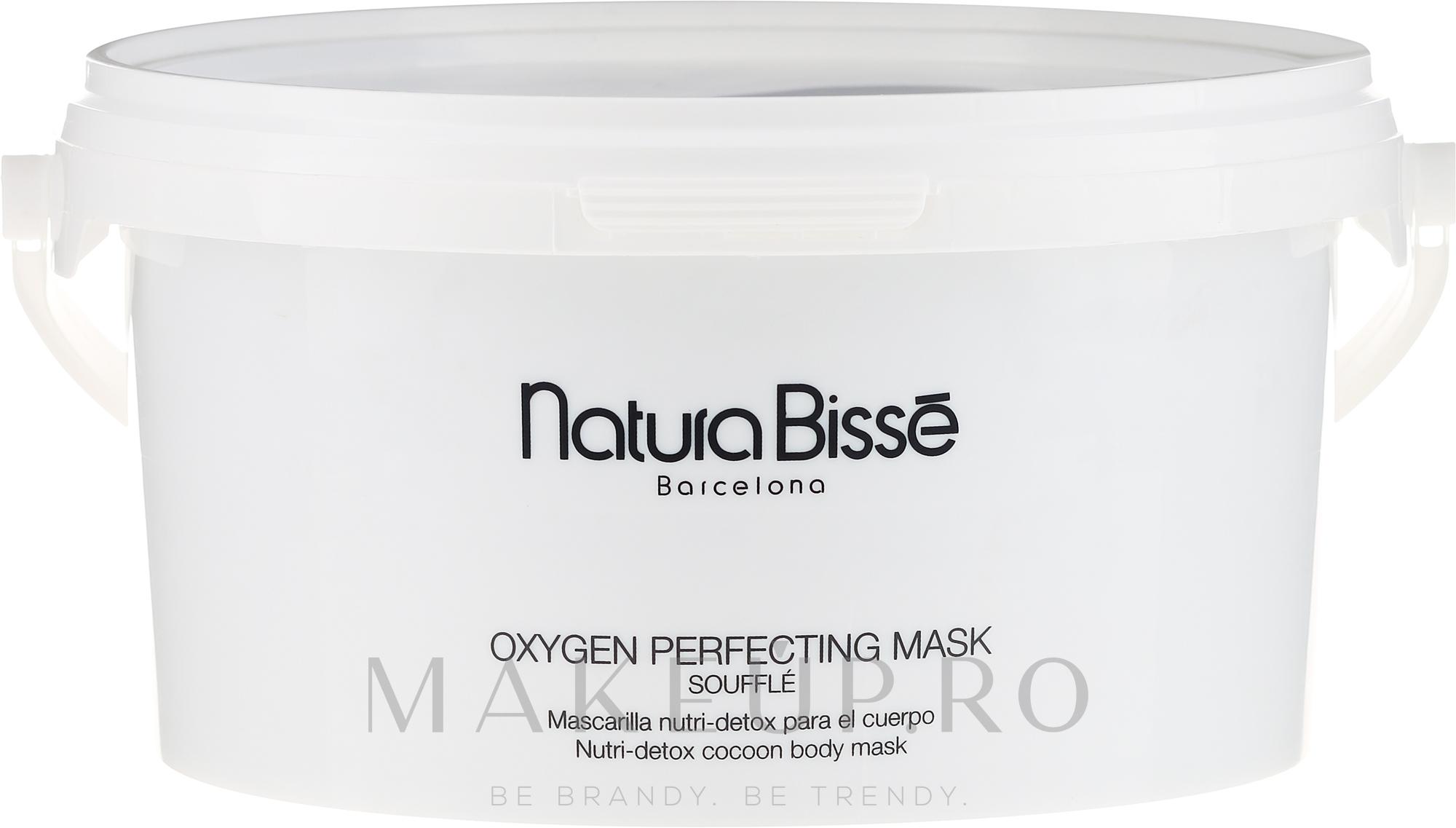 Mască detox nutritivă pentru corp - Natura Bisse Oxygen Perfecting Mask Soufle — Imagine 2000 g