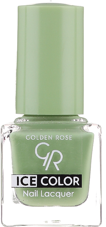 Lac de unghii - Golden Rose Ice Color Nail Lacquer