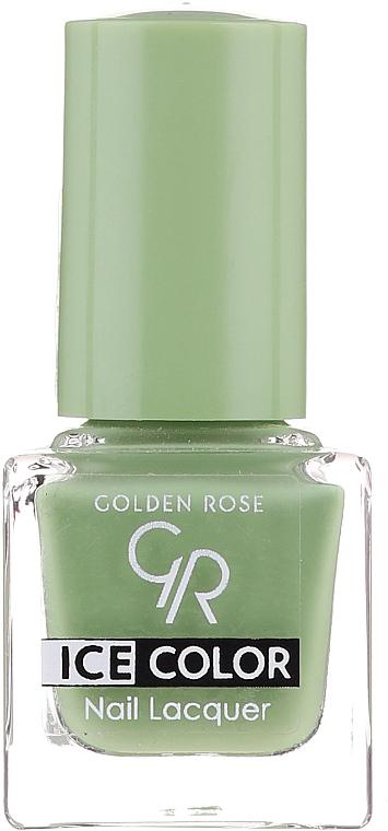 Lac de unghii - Golden Rose Ice Color Nail Lacquer — Imagine N1