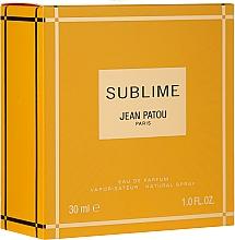 Parfumuri și produse cosmetice Jean Patou Sublime - Apă de parfum