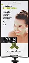 Parfumuri și produse cosmetice Mască de față - Iroha Nature Green Tea Purifying Peel-Off Mask