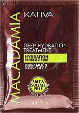 Parfumuri și produse cosmetice Mască intensivă de hidratare pentru păr normal și deteriorat - Kativa Macadamia Deep Hydrating Treatment
