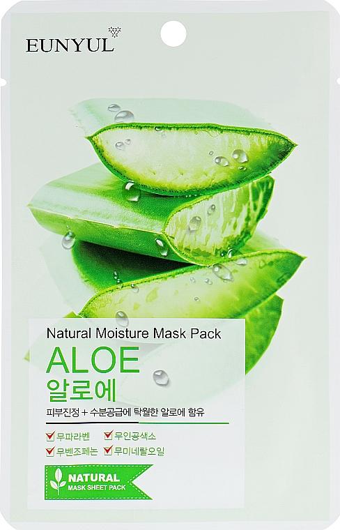 Mască de țesut cu extract de aloe vera - Eunyul Natural Moisture Mask Pack Aloe