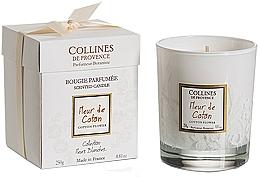 Parfumuri și produse cosmetice Lumânare aromată - Collines De Provence Cotton Flower