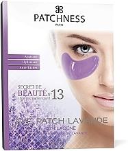 Parfumuri și produse cosmetice Patch-uri de colagen cu extract de lavandă - Patchness Eye Patch Lavender