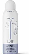 Parfumuri și produse cosmetice Spumă de baie - Naif Happy Shower Foam