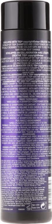 Șampon pentru volum - Tigi Catwalk Your Highness Elevating Shampoo — Imagine N2