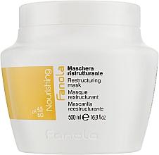 Parfumuri și produse cosmetice Mască regenerantă pentru păr uscat - Fanola Nutri Care Restructuring Mask