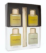 Parfumuri și produse cosmetice Set - AromaWorks Light Range Reed Diffuser (diffuser/4x[100ml)