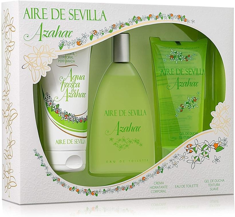 Instituto Espanol Aire de Sevilla Azahar - Set (edt/150ml + b/cr/150ml + sh/gel/150ml)