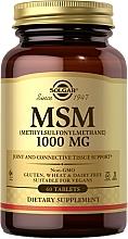 Parfumuri și produse cosmetice Supliment dietetic - Solgar MSM 1000 Mg