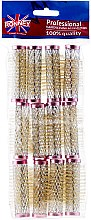 Parfumuri și produse cosmetice Bigudiuri 18/63 mm, roz - Ronney Wire Curlers