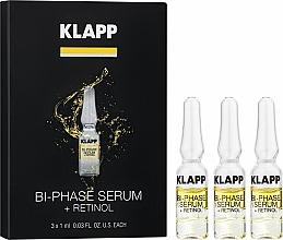 """Parfumuri și produse cosmetice Ser bifazic """"Retinol"""" - Klapp Bi-Phase Serum Retinol"""