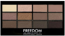 Parfumuri și produse cosmetice Paleta fard de pleoape - Freedom Makeup London Pro Eyeshadow Palette