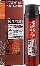 Parfumuri și produse cosmetice Gel hidratant pentru față și barbă - L'Oreal Paris Men Expert Barber Club Moisturiser