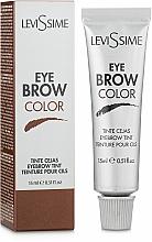 Parfumuri și produse cosmetice Vopsea pentru gene și sprâncene - LeviSsime Eye Brow Color