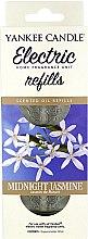 Parfumuri și produse cosmetice Rezervă pentru lumânare aromatică electrică - Yankee Candle Midnight Jasmine Scent Oil Refills