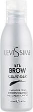 Parfumuri și produse cosmetice Degresant soluție de curățat sprâncenele - LeviSsime Eye Brow Cleanser