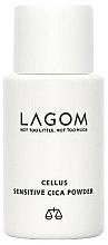 Parfumuri și produse cosmetice Pudră cu extract de centella asiatica - Lagom Cellus Sensitive CICA Powder