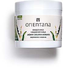 """Parfumuri și produse cosmetice Ulei de corp """"Iasomie și ceai verde"""" - Orientana Jasmine & Green Tea Body Oil"""