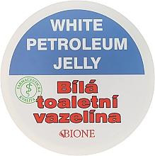 Parfumuri și produse cosmetice Vaselină albă - Bione Cosmetics White Vaseline