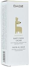 Parfumuri și produse cosmetice Cremă hidratantă și de protecție sub scutec - Babe Laboratorios Nappy Rash Cream