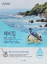 """Parfumuri și produse cosmetice Mască din țesătură """"Extract de cuibul rândunicii"""" - Esfolio Bird's Nest Essence Mask Sheet"""