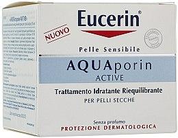 Parfumuri și produse cosmetice Cremă de față - Eucerin AquaPorin Active Deep Long-lasting Hydration For Dry Skin