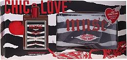 Parfumuri și produse cosmetice Chic&Love Muse - Set (edt/100ml + bag)