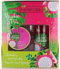 Parfumuri și produse cosmetice Set - Bielenda Exotic Paradise Pitaja (scrub/350g + butter/400ml)