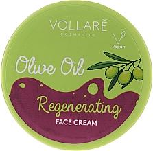Parfumuri și produse cosmetice Cremă cu ulei de măsline pentru față - Vollare Regenerating Olive Oil Face Cream