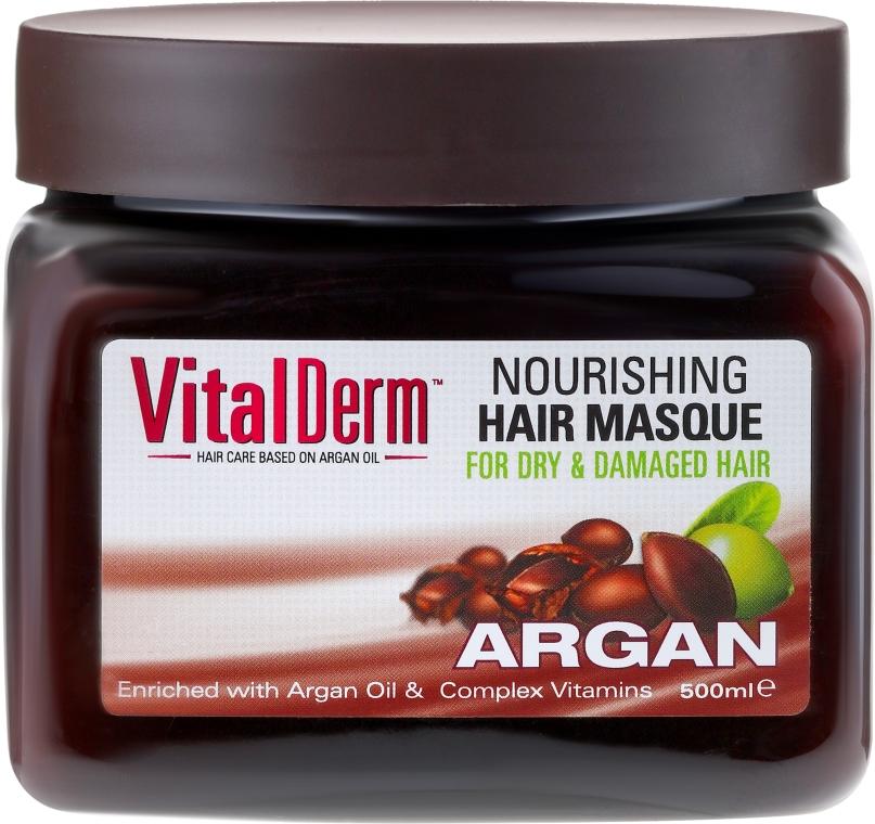 Mască de păr - VitalDerm Argana — Imagine N1