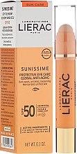 Parfumuri și produse cosmetice Balsam pentru zona din jurul ochilor - Lierac Sunissime Protective Eye Care Anti-Age Global SPF50