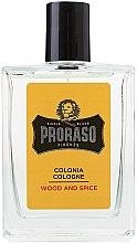 Parfumuri și produse cosmetice Proraso Wood and Spice - Apă de colonie