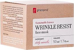 Parfumuri și produse cosmetice Mască anti-îmbătrânire - Phenome Wrinkle Resist Face Mask