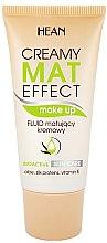 Parfumuri și produse cosmetice Fond de ten lichid mat - Hean Creamy Mat Effect