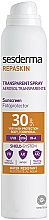 Parfumuri și produse cosmetice Spray de protecție solară pentru corp - SesDerma Laboratories Repaskin DNA Repair Spray Transparente SPF30