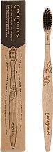 Parfumuri și produse cosmetice Periuță din bambuc pentru dinți - Georganics Charcoal Soft Toothbrush