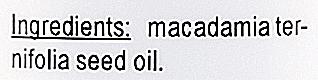Ulei de Macadamia - E-Fiore Natural Oil — Imagine N5